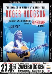Roger Hodgdon- formerly of SUPERTRAMP (Veranstalter: GiG Concerts) @ City Festival Zweibrücken | Zweibrücken | Rheinland-Pfalz | Deutschland