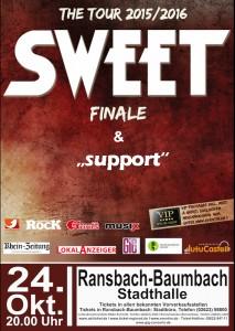 The Sweet (Veranstalter: GiG Concerts) @ Stadthalle | Ransbach-Baumbach | Rheinland-Pfalz | Deutschland